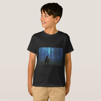 Fantasy Knight 'MidKight Ride V2' Kid's T-Shirt