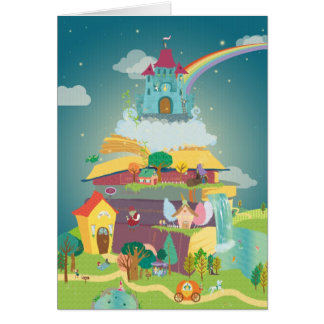 Fantasy Land greeting card