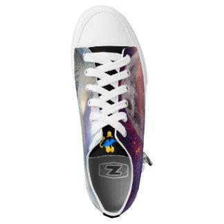 Fantasy Landscape Low-Top Shoe Printed Shoes