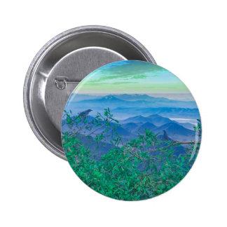 Fantasy Landscape Photo Collage 6 Cm Round Badge