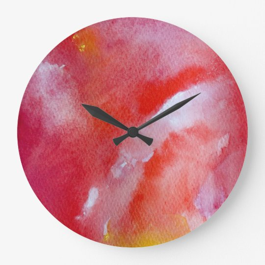Fantasy move Round (Large) Wall Clock