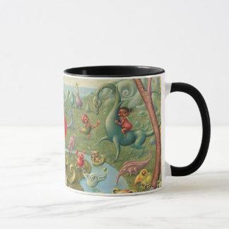 Fantasy Mug: Strawberry Girl Dreaming Mug