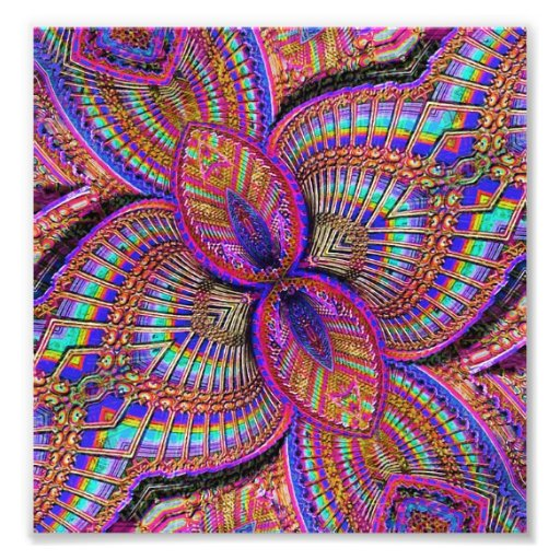 Fantasy Multicolored Ornament Photograph
