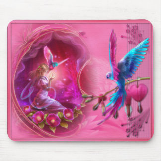 Fantasy Parrot - Mousepad