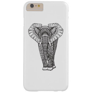 Fantasy Patterned Elephant Doodle Barely There iPhone 6 Plus Case