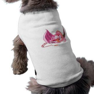 Fantasy Pink Dragon png Dog Clothes