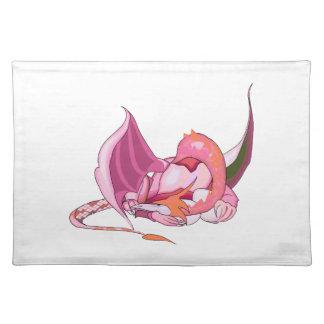 Fantasy Pink Dragon.png Placemat