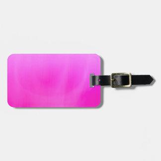 Fantasy Pink Luggage Tag