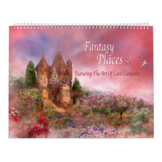 Fantasy Places Art Calendar