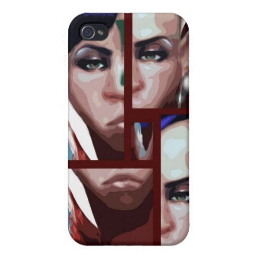 Fantasy Portrait iPhone 4/4S Covers