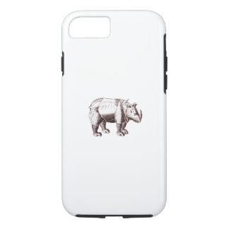 Fantasy Rhino After Albrecht Durer iPhone 8/7 Case