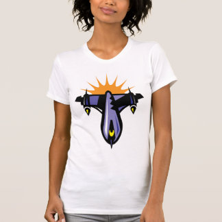 Fantasy Rocket Ship Flight T-Shirt