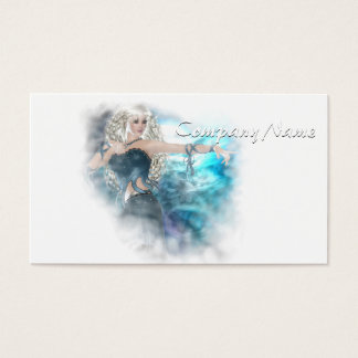 Fantasy Sky Siren Vignette Business Card