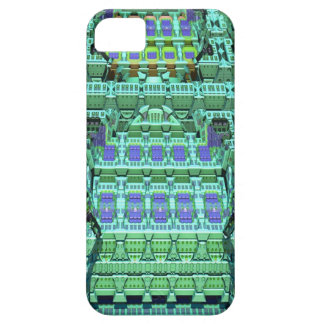 Fantasy skyscraper,artistic abstract iPhone 5 case