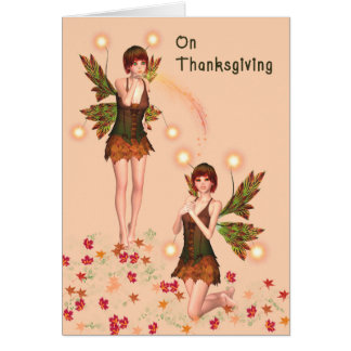 Fantasy Thanksgiving Card