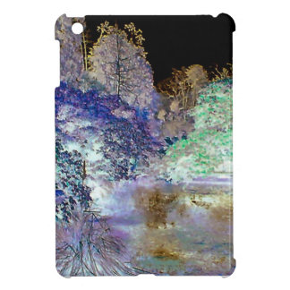 Fantasy Trees Abstract Landscape iPad Mini Cases
