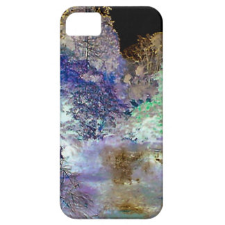 Fantasy Trees Abstract Landscape iPhone 5 Case