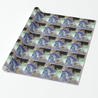 Fantasy Trees Abstract Landscape Wrapping Paper