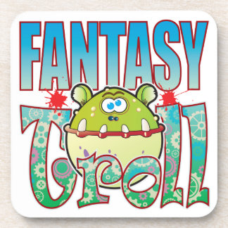 Fantasy Troll Drink Coaster