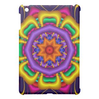 Fantasy tropical Star Flower iPad Mini Cover