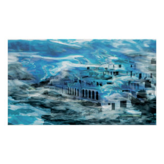 Fantasy Underseaworld Of Atlantis Canvas Or Print