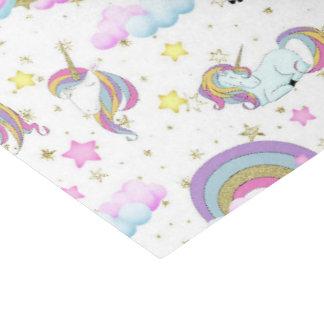 Fantasy unicorn pattern girls party tissue tissue paper