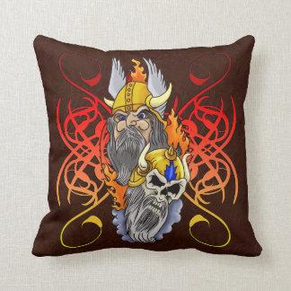 Fantasy Viking Warrior Portrait Cushions