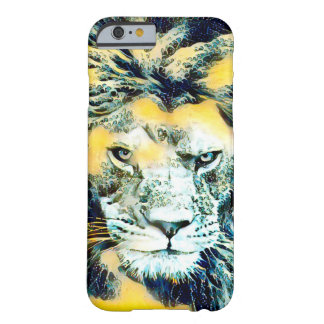 Fantasy Water Lion Wildlife Watercolor Barely There iPhone 6 Case