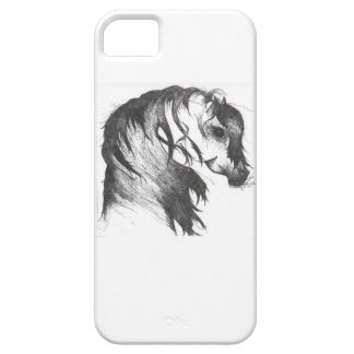 Fantasy wind blown horse iPhone 5 covers
