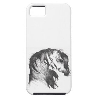 Fantasy wind blown horse iPhone 5 cases