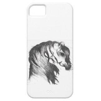 Fantasy wind blown horse iPhone 5 case