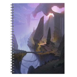 Fantasy World Spiral Notebook