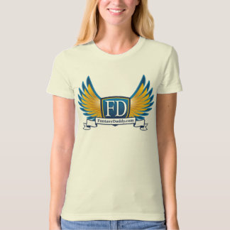 FantasyDaddy.com Ladies Organic T-Shirt (Fitted)