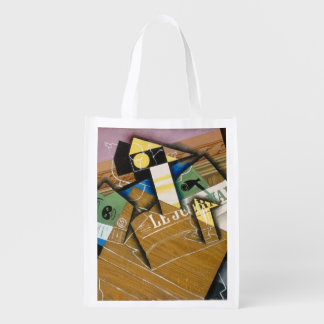 Fantomas, 1915 (oil on canvas) grocery bags