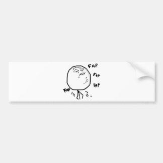 Fap Meme - Bumper Sticker Car Bumper Sticker