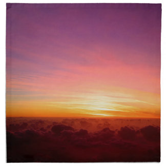 Far above the clouds napkin