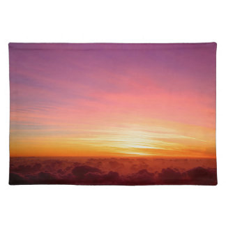 Far above the clouds placemat