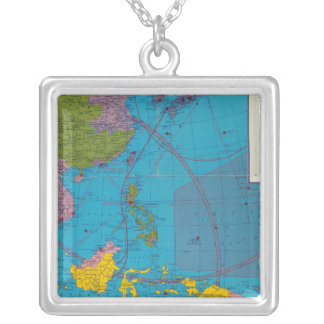 Far East, Mediterranean Area Silver Plated Necklace