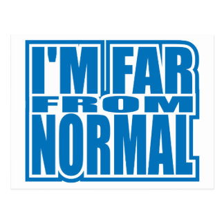 Far from Normal Postcard