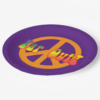 Far Out! Paper Plate
