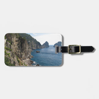 Faraglioni Rock formation on island Capri Bag Tag