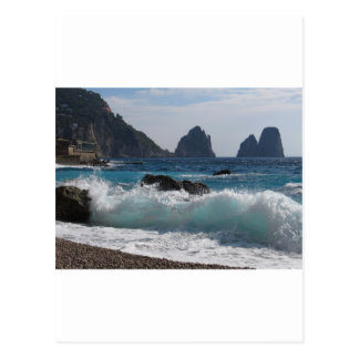Faraglioni Rock formation on island Capri Post Cards
