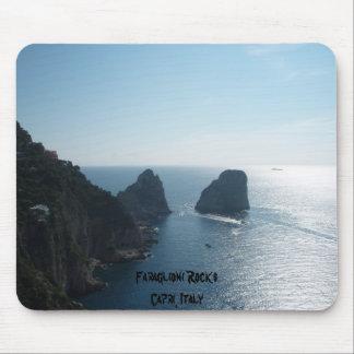 Faraglioni Rocks Capri Italy Faraglioni Rock Mousepads