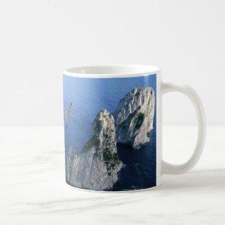 Faraglioni Rocks, Isle of Capri cup