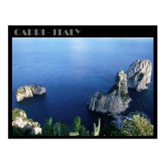 Faraglioni Rocks, Isle of Capri postcard