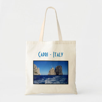 Faraglioni Stacks, Isle of Capri - Naples - Italy Tote Bag