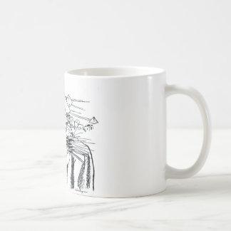 farao com mesa egito antigo coffee mug