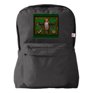 Faravahar backpack by AncientAgesPrints