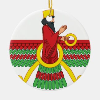 Faravahar Symbol Christmas Ornament