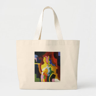 Farbige Formen III by August Macke Jumbo Tote Bag